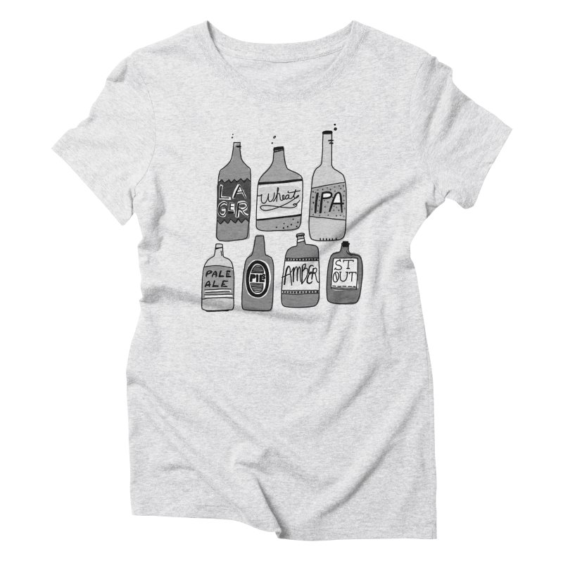 Beer Family Women's Triblend T-shirt by Katie Lukes