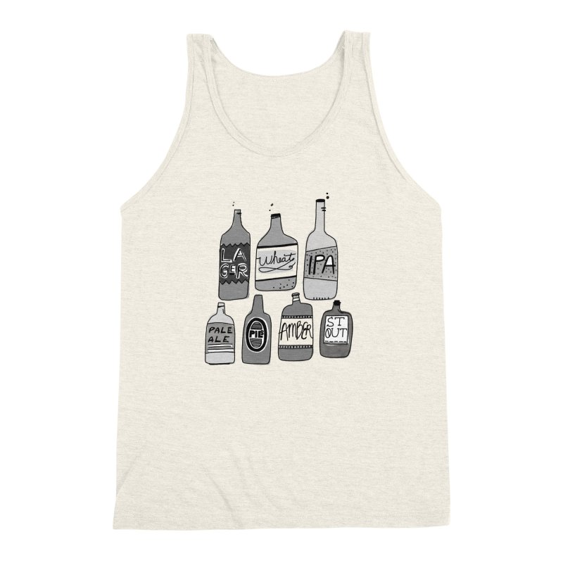 Beer Family Men's Triblend Tank by Katie Lukes