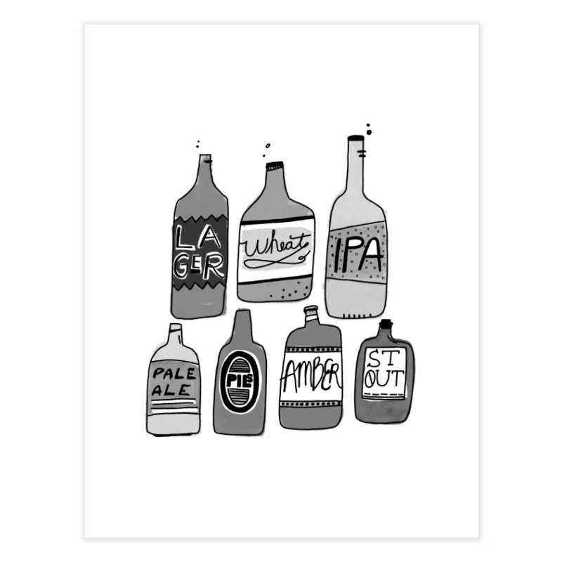 Beer Family Home Fine Art Print by Katie Lukes