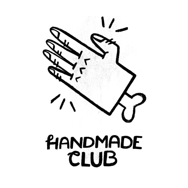 Handmade Club Men's T-Shirt by Katie Lukes