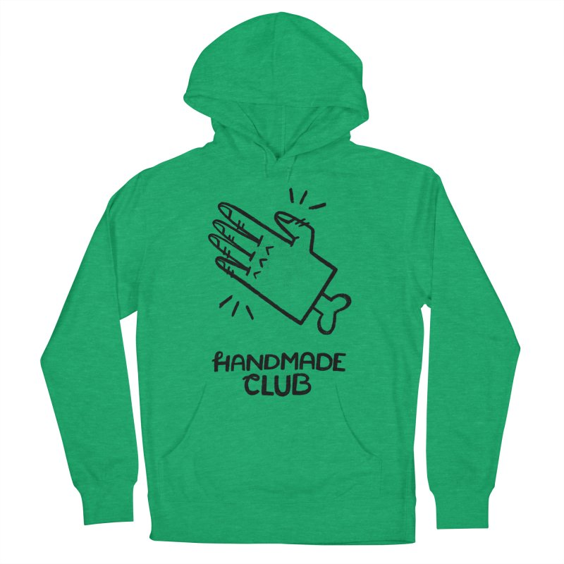 Handmade Club Men's French Terry Pullover Hoody by Katie Lukes