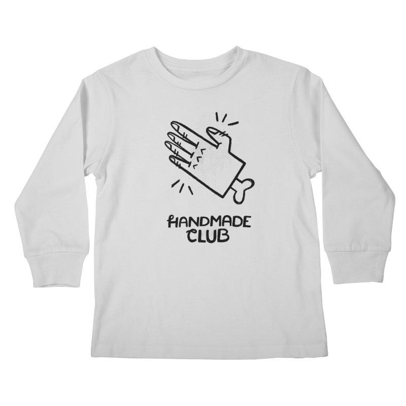 Handmade Club Kids Longsleeve T-Shirt by Katie Lukes