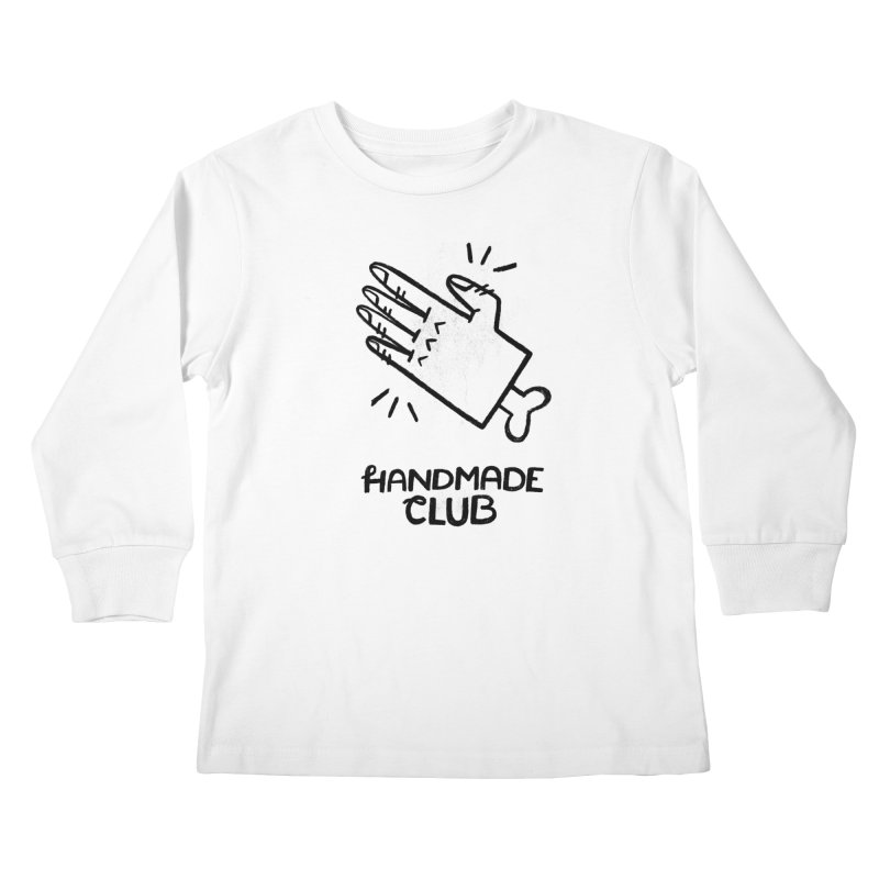 Handmade Club Kids Longsleeve T-Shirt by Katie Lukes