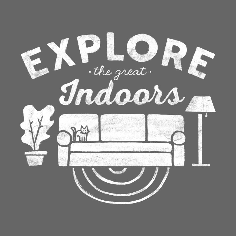 The Great Indoors Men's Sweatshirt by Katie Lukes