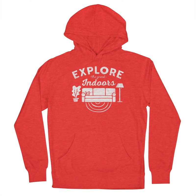 The Great Indoors Women's Pullover Hoody by Katie Lukes