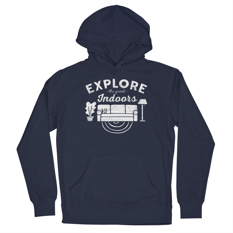 The Great Indoors Men's Pullover Hoody by Katie Lukes