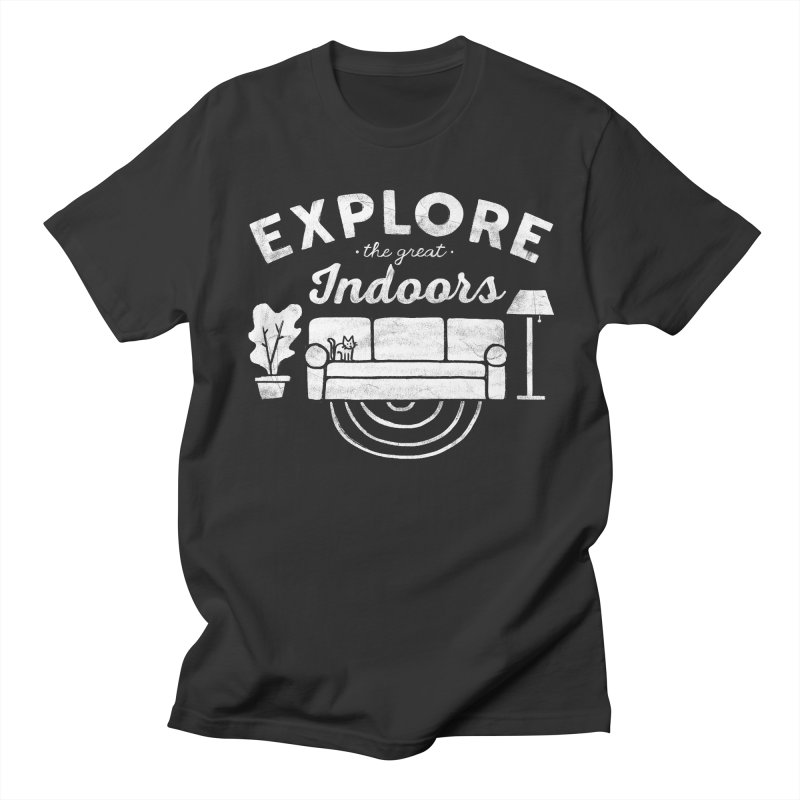The Great Indoors Men's Regular T-Shirt by Katie Lukes
