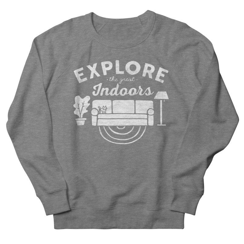 The Great Indoors Men's Sweatshirt by Katie Lukes