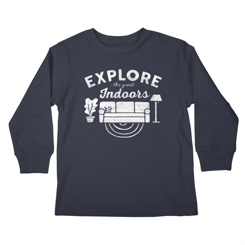 The Great Indoors Kids Longsleeve T-Shirt by Katie Lukes