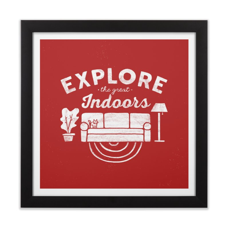 The Great Indoors Home Framed Fine Art Print by Katie Lukes