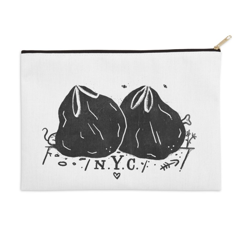 NYC Accessories Zip Pouch by Katie Lukes
