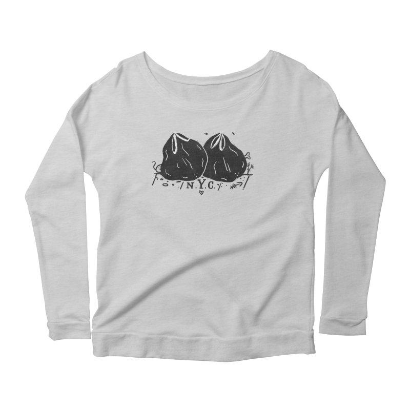 NYC Women's Scoop Neck Longsleeve T-Shirt by Katie Lukes