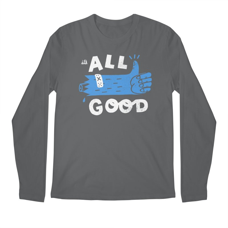 It's All Good Men's Regular Longsleeve T-Shirt by Katie Lukes