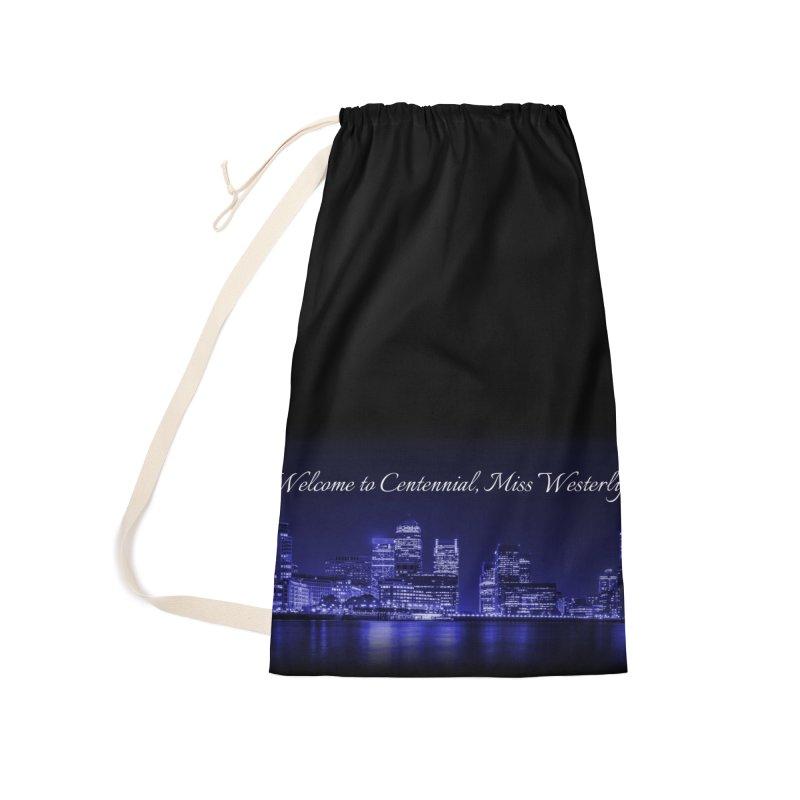 Mourning Gloria Skyline Accessories Bag by Katie Michelle's Merchandise