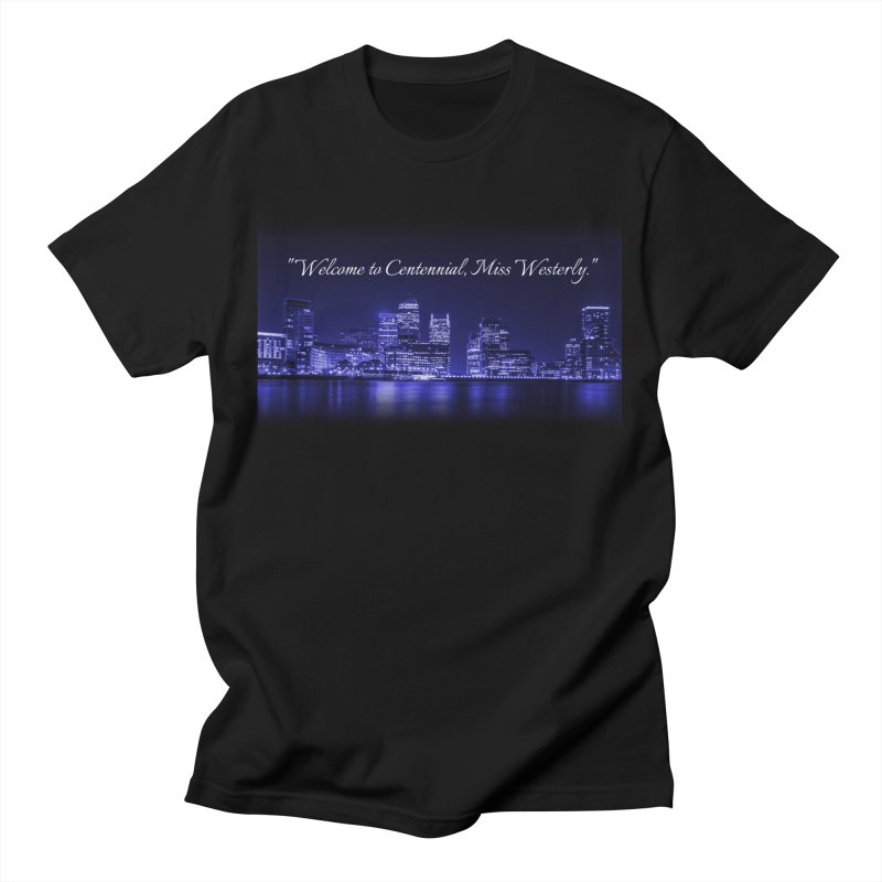 Mourning Gloria Skyline Men's T-Shirt by Katie Michelle's Merchandise