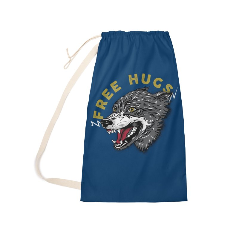 FREE HUGS Accessories Laundry Bag Bag by Katie Rose's Artist Shop