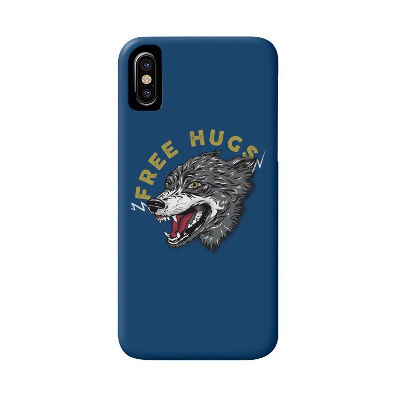 FREE HUGS Accessories Phone Case by Katie Rose's Artist Shop