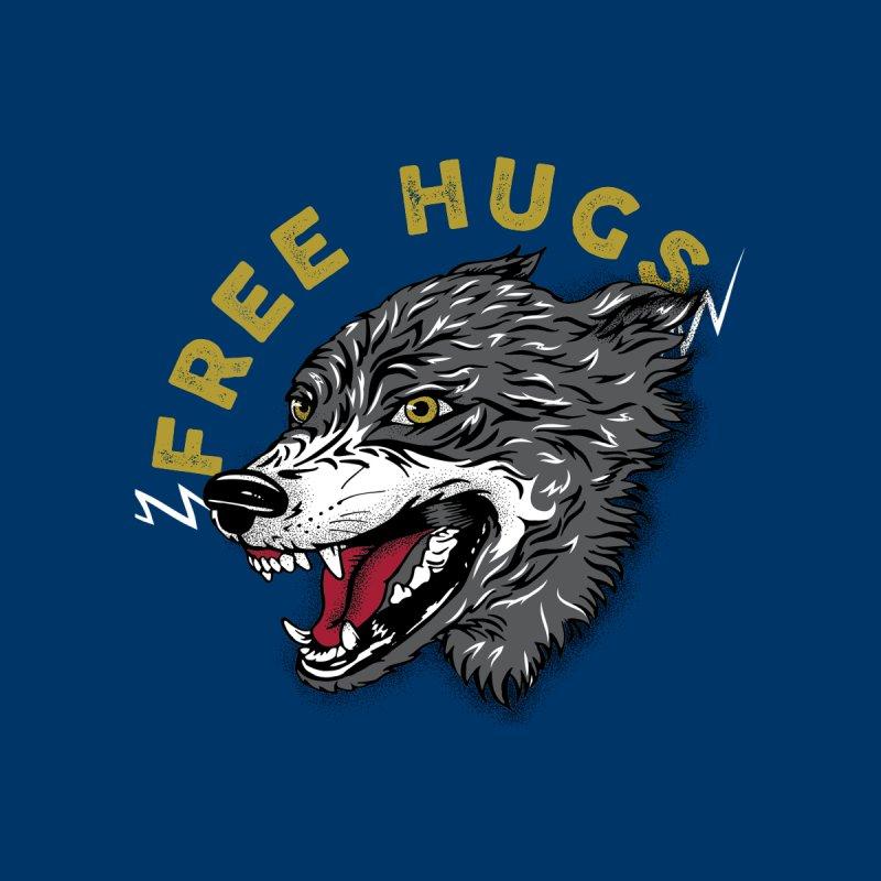 FREE HUGS Kids Baby Zip-Up Hoody by Katie Rose's Artist Shop