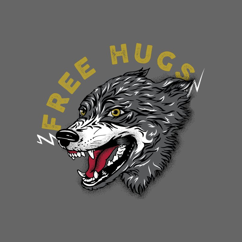 FREE HUGS Women's Scoop Neck by Katie Rose's Artist Shop