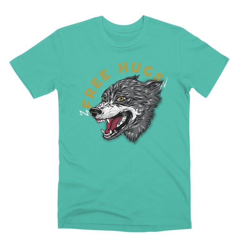 FREE HUGS Men's Premium T-Shirt by Katie Rose's Artist Shop