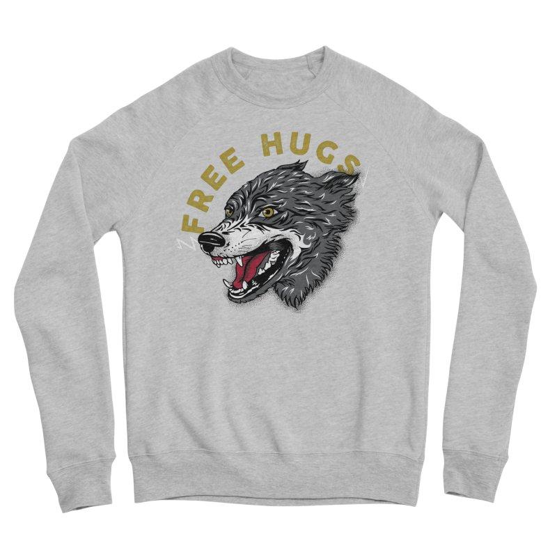 FREE HUGS Women's Sponge Fleece Sweatshirt by Katie Rose's Artist Shop