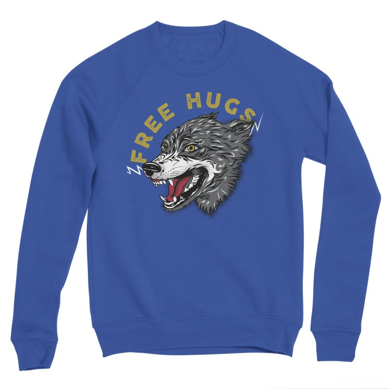 FREE HUGS Men's Sweatshirt by Katie Rose's Artist Shop