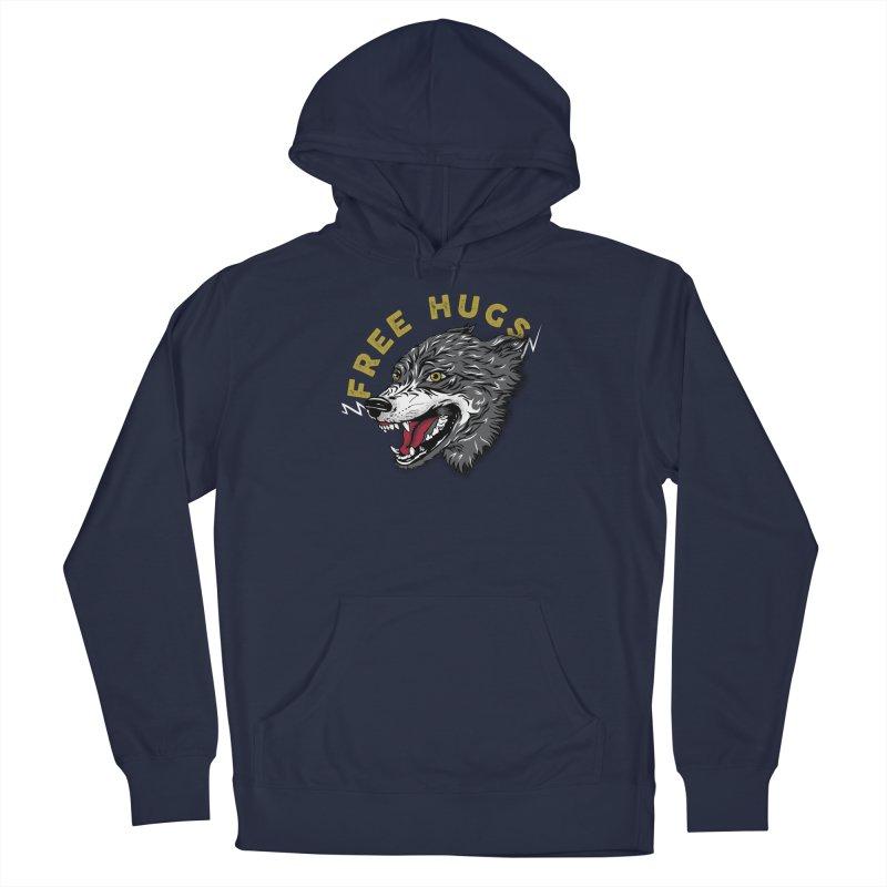 FREE HUGS Men's Pullover Hoody by Katie Rose's Artist Shop