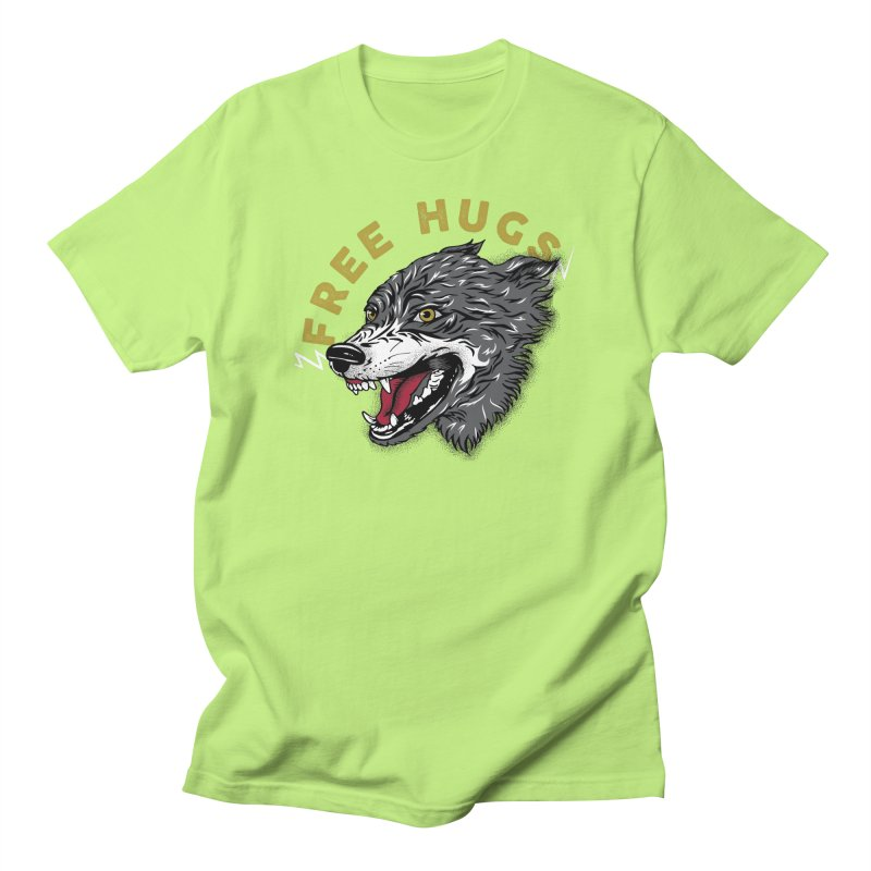 FREE HUGS Women's Regular Unisex T-Shirt by Katie Rose's Artist Shop