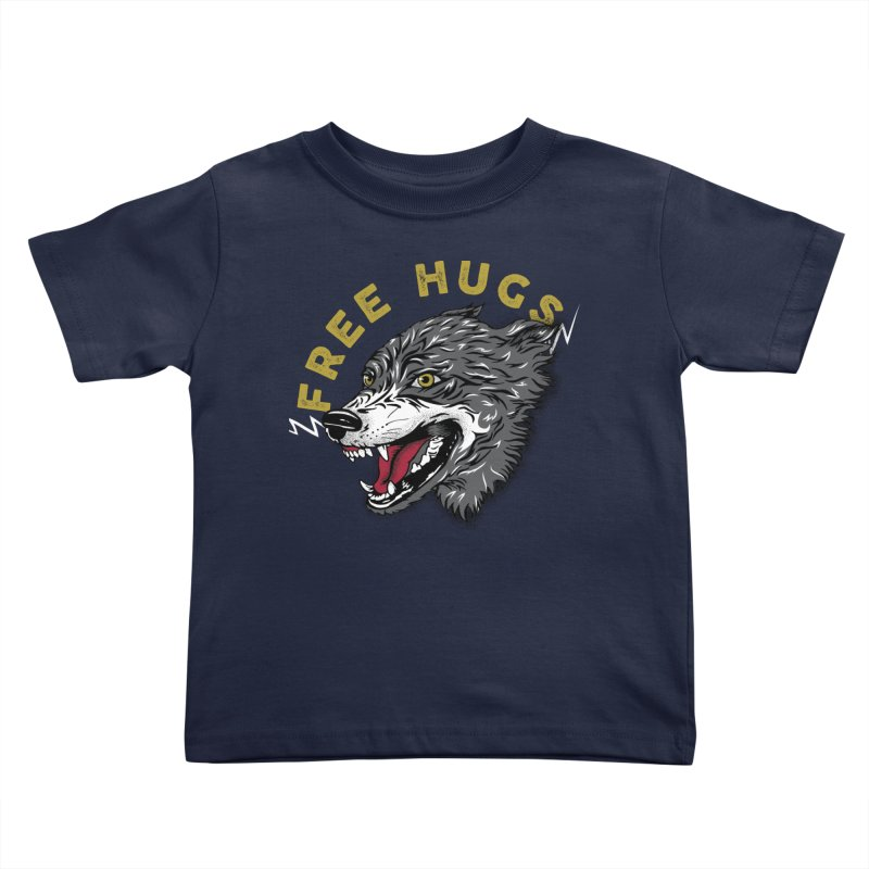 FREE HUGS Kids Toddler T-Shirt by Katie Rose's Artist Shop
