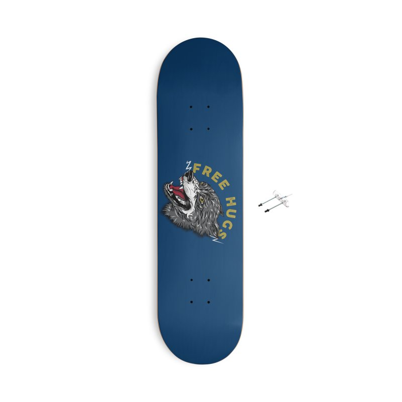 FREE HUGS Accessories Skateboard by Katie Rose's Artist Shop