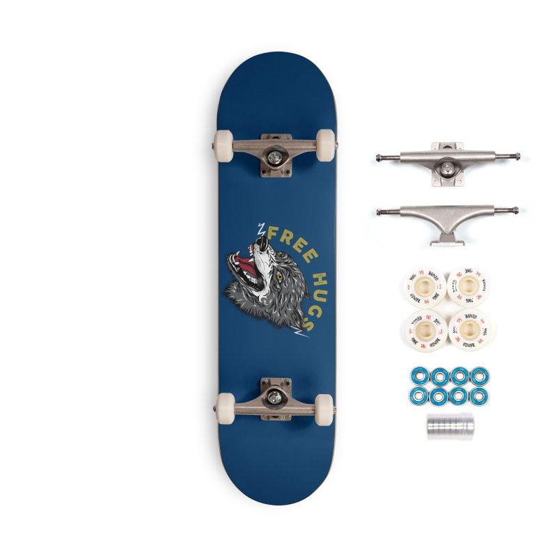 FREE HUGS Accessories Complete - Premium Skateboard by Katie Rose's Artist Shop