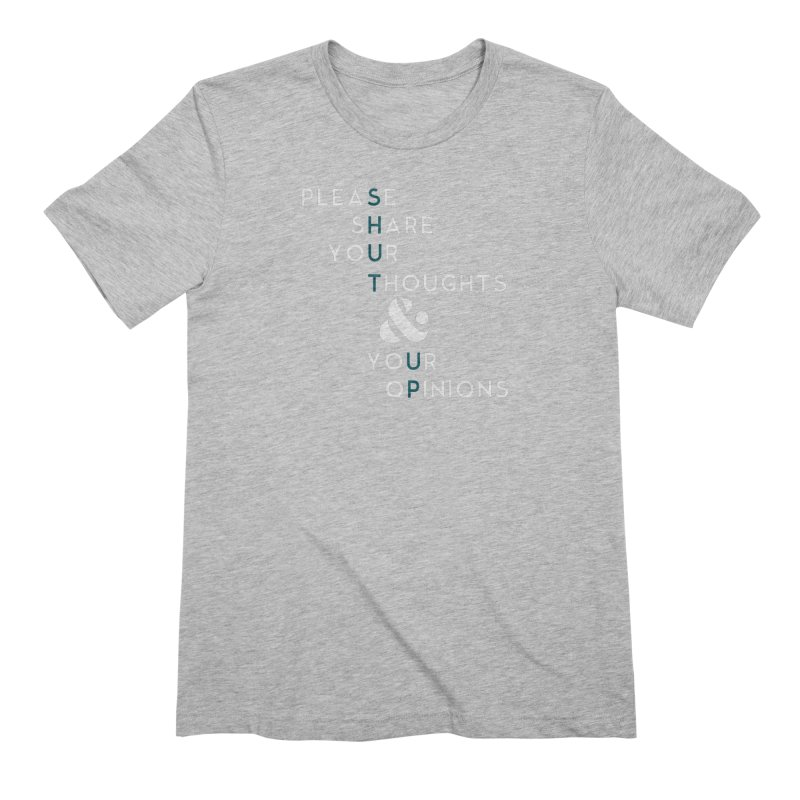 Please & Thank You Men's Extra Soft T-Shirt by Katie Rose's Artist Shop