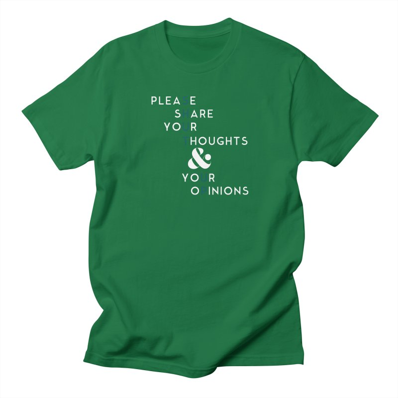 Please & Thank You Women's Regular Unisex T-Shirt by Katie Rose's Artist Shop