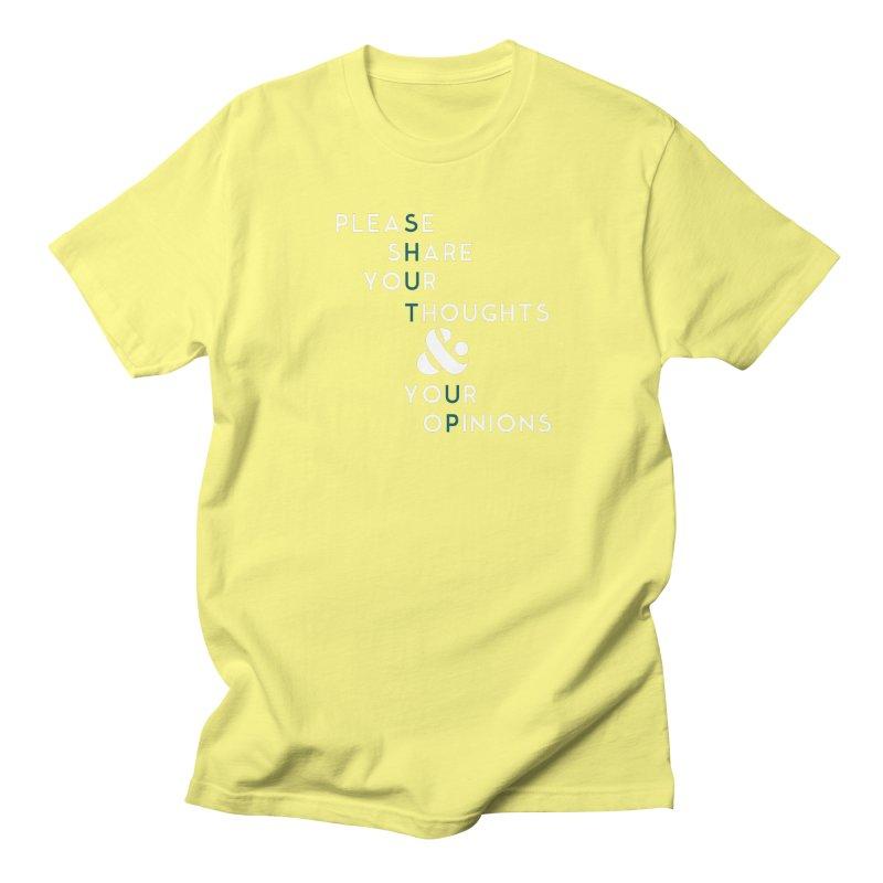 Please & Thank You Men's Regular T-Shirt by Katie Rose's Artist Shop