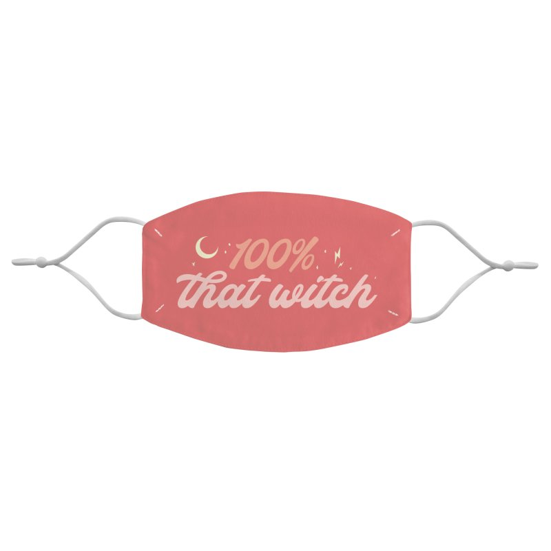 100% That Witch Accessories Face Mask by Katie Rose's Artist Shop