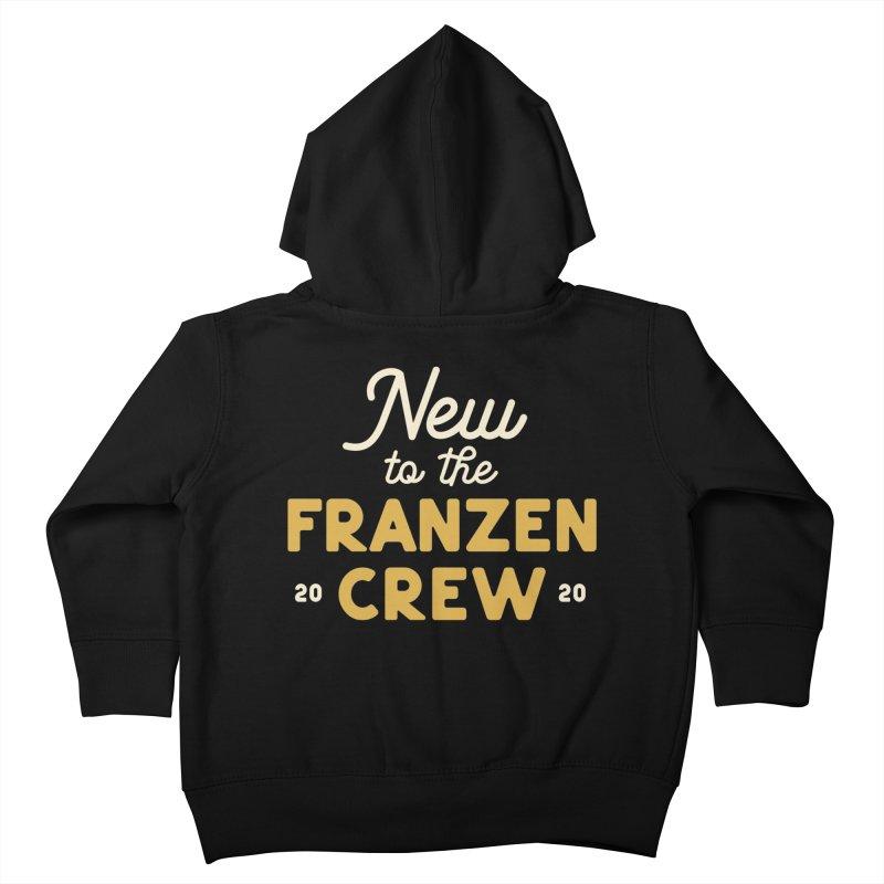 Franzen Crew Kids Toddler Zip-Up Hoody by Katie Rose's Artist Shop