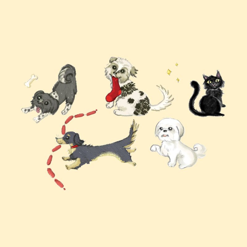 The Pack by Katie Rose's Artist Shop