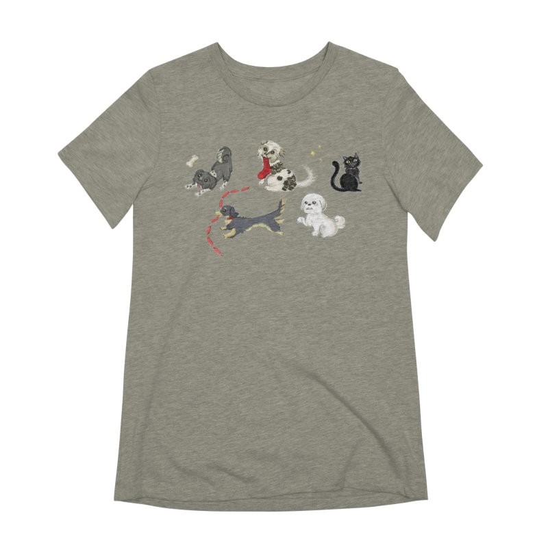 The Pack Women's Extra Soft T-Shirt by Katie Rose's Artist Shop