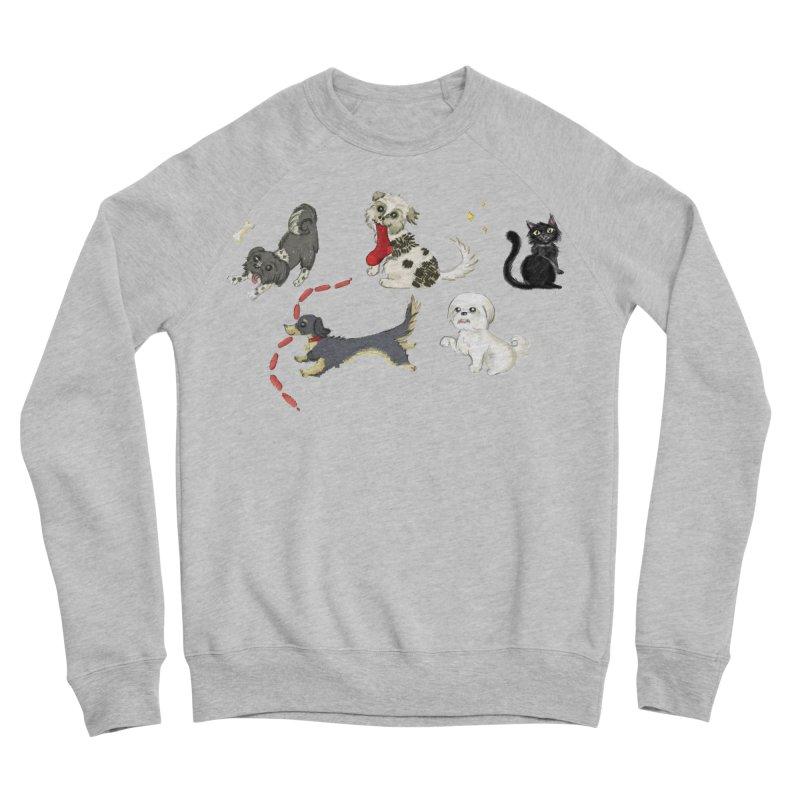 The Pack Men's Sponge Fleece Sweatshirt by Katie Rose's Artist Shop