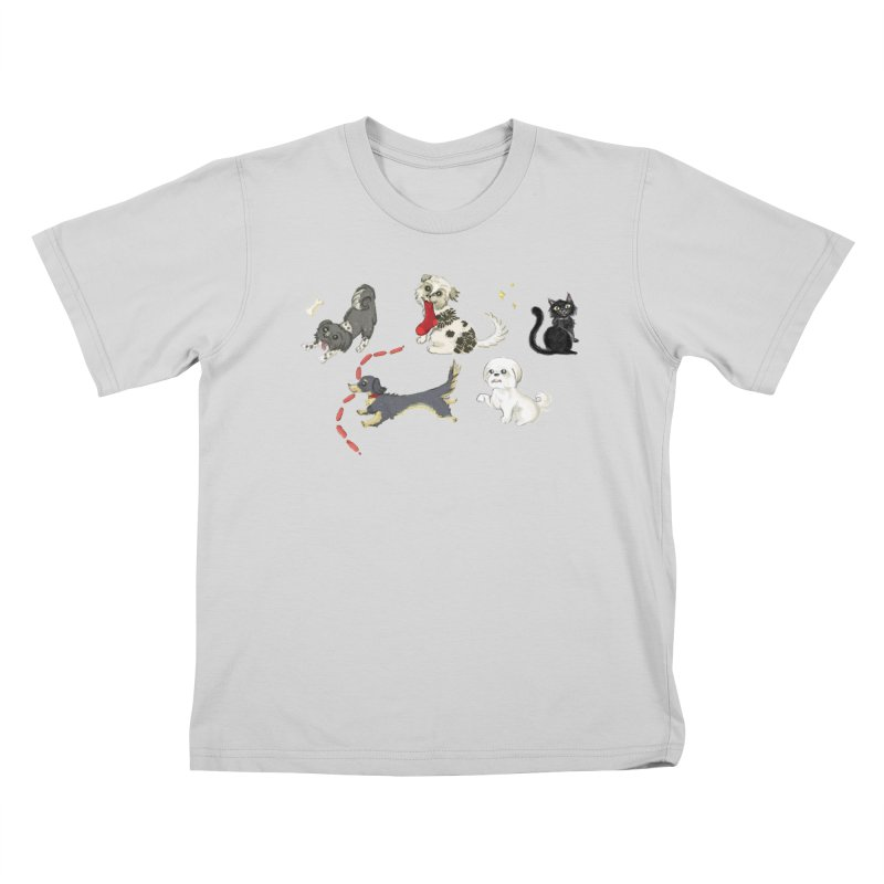 The Pack Kids T-Shirt by Katie Rose's Artist Shop