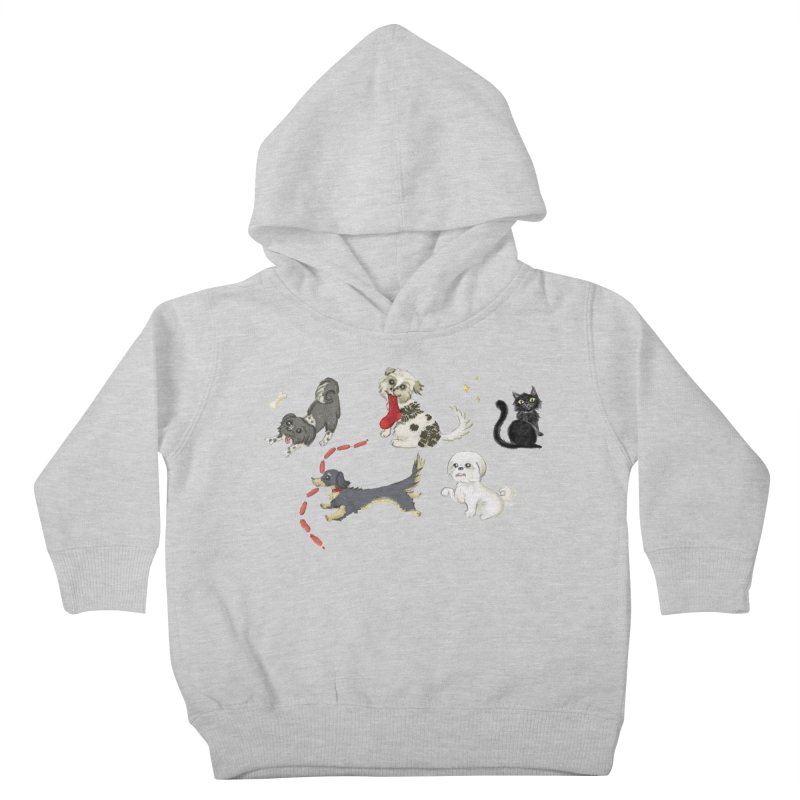 The Pack Kids Toddler Pullover Hoody by Katie Rose's Artist Shop