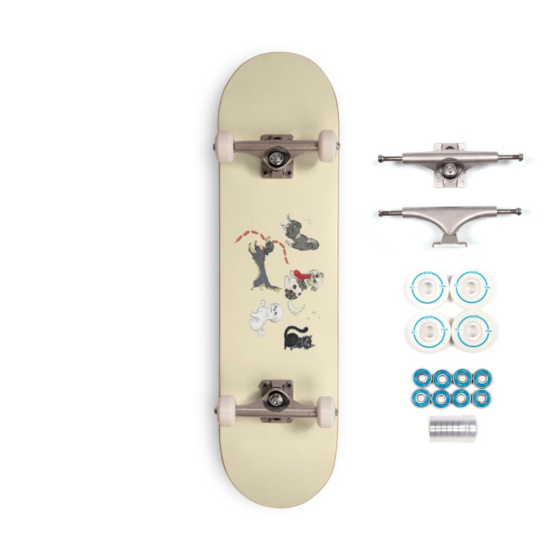 The Pack Accessories Complete - Basic Skateboard by Katie Rose's Artist Shop