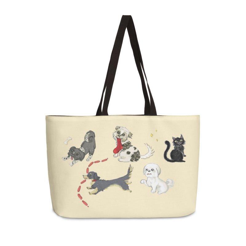 The Pack Accessories Weekender Bag Bag by Katie Rose's Artist Shop