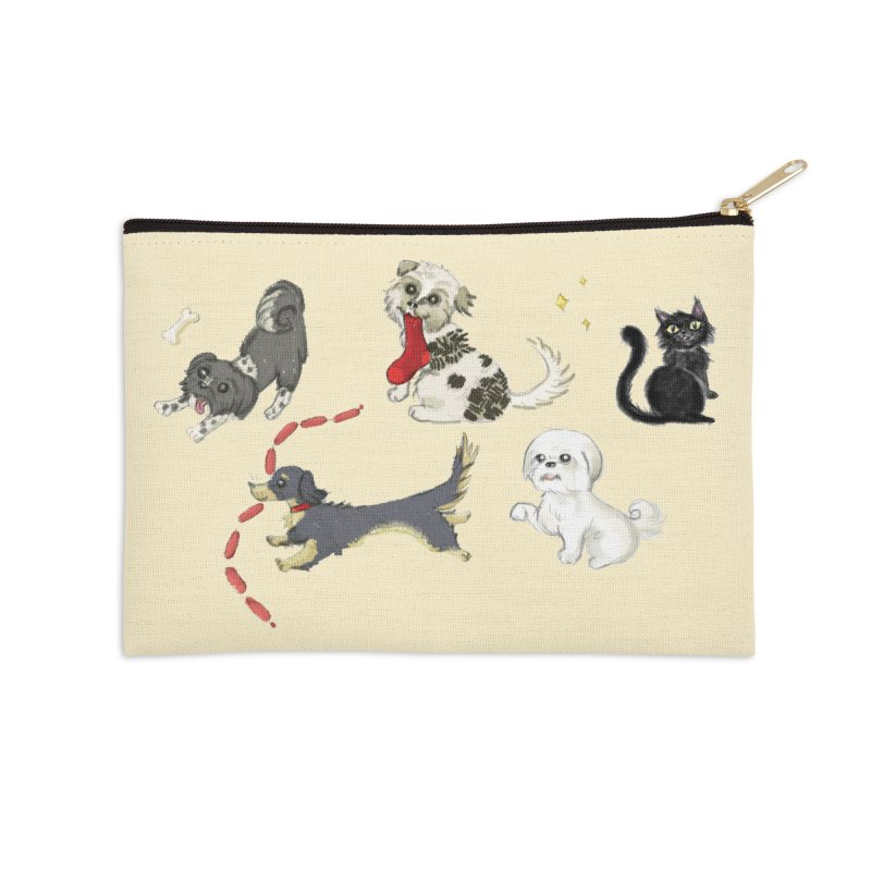 The Pack Accessories Zip Pouch by Katie Rose's Artist Shop