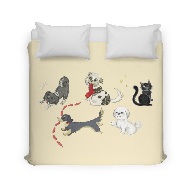 The Pack Home Duvet by Katie Rose's Artist Shop