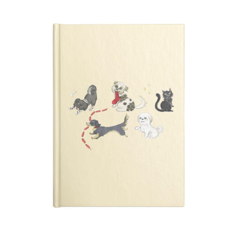 The Pack Accessories Blank Journal Notebook by Katie Rose's Artist Shop