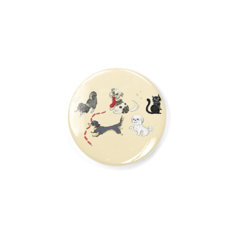 The Pack Accessories Button by Katie Rose's Artist Shop