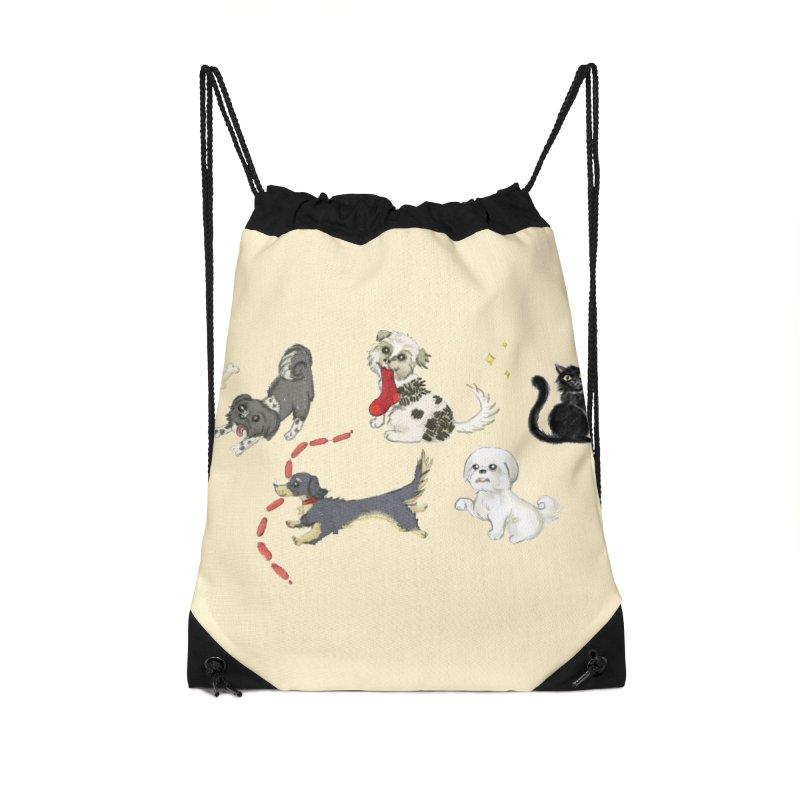 The Pack Accessories Drawstring Bag Bag by Katie Rose's Artist Shop