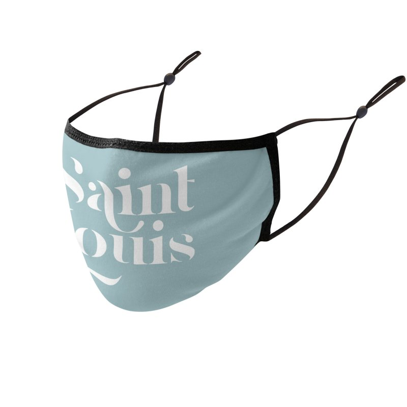 SAINT LOUIS Accessories Face Mask by Katie Rose's Artist Shop