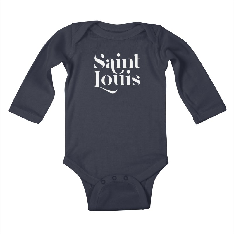 SAINT LOUIS Kids Baby Longsleeve Bodysuit by Katie Rose's Artist Shop